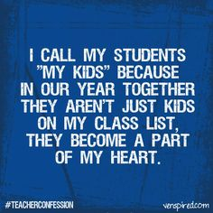This is true. Even for high school students!