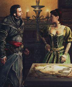 Ezio and Sofia <3