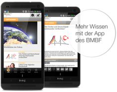 Mehr Wissen mit der App des Bundesministeriums für Bildung und Forschung.