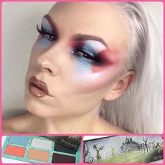 Love this unique look by @idaaztor using her #sugarpill x #edwardscissorhands eyeshadow palette returning this Friday! Beautifully done @idaaztor!  by sugarpill
