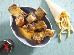 From the YOU test kitchen: Beer-basted short ribs South African Recipes, Short Ribs, Test Kitchen, Food Inspiration, Chips, Cooking Recipes, Beer, Yummy Food, Kos