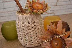 Discover recipes, home ideas, style inspiration and other ideas to try. Barbarella, Crochet Lace, Candle Holders, Candles, Style Inspiration, Knitting, Crafts, Camilla, Runner