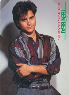 This pinup is from Teen Beat magazine. Tio Jesse, Uncle Jesse, Jesse From Full House, Chad Allen, Ricky Schroder, John Schneider, Kirk Cameron, John Stamos, Ralph Macchio