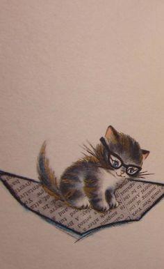 Nearsighted Kitty