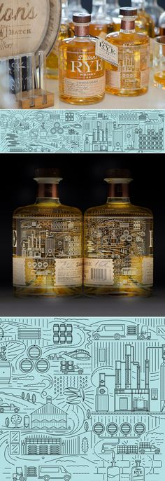 How Insite Design Crafted the Perfect Details of Dillon's Small batch Rye Whisky — The Dieline | Packaging & Branding Design & Innovation News