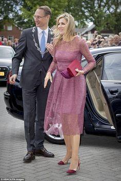 13 June 2017 - Queen Maxima visits Nieuw-Buinen town in Drenthe