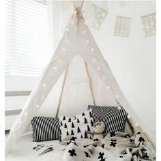 Type: Tent Age Range: 0-5 Years Material: Cloth Features: Soft,Foldable Dimensions: 120*120*145