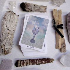 HOW TO CLEANSE YOUR TAROT CARDS #tarotcardsdiy #tarotcardshowtoread