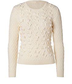 RED Valentino | Virgin Wool Pom-Pom Pullover
