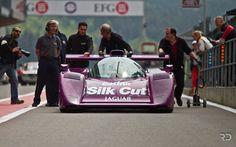 1991 Jaguar XJR-14 #591 Christophe d'Ansembourg  Group C Racing Spa Classic 2015