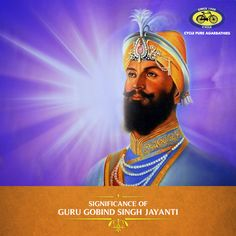 Tomorrow is Guru Gobind Singh Jayanti, a day commemorating the birthday of Guru Gobind, the tenth Sikh Guru. On this day, devotees offer prayers to the Guru for prosperity. Large processions are held, during which hymns are sung and sweets and Sharbat are shared. Devotees also visit Gurudwaras for special prayer gatherings. #PureDevotion