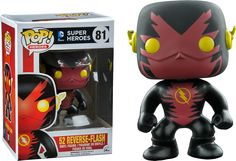 Funko Pop Heroes: New 52 Reverse Flash Exclusive Vinyl Figure