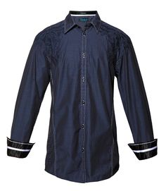VITALITY - NAVY- Shirts- Roar Clothing