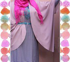 via Miss Hijabi Muslim Fashion, Hijab Fashion, Plus Size, Steve Madden, Stylish, Swimwear, Outfits, Clothes, Sisters