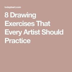 8 Drawing Exercises That Every Artist Should Practice 8 Drawing Exercises That Every Artist Should Practice Drawing Practice, Drawing Skills, Drawing Lessons, Drawing Techniques, Drawing Drawing, Pencil Drawing Tutorials, Art Tutorials, Pencil Drawings, Art Drawings