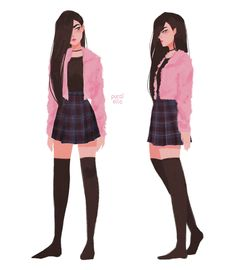 This was from a while ago but I finally figured out Anita's uniform