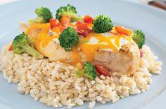 Foil-Packet Southwestern Chicken Dinner