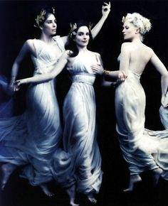 Sarah Silverman, Tina Fey and Amy Poehler photographed by Annie Leibovitz for Vanity Fair, April 2008