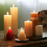 These Vance Kitira candles are perfect for the holidays! We have them in all shapes, sizes and scents at Bella