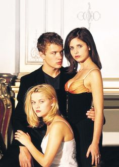 Ryan Phillippe, Reese Witherspoon and Sarah Michelle Gellar in Cruel Intentions (1999)