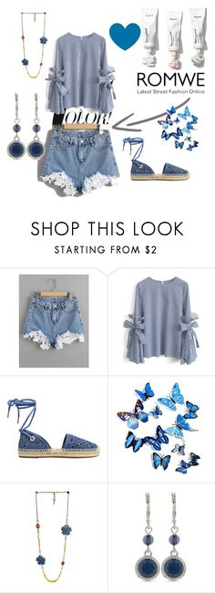 """""""Romwe"""" by curlyhaired ❤ liked on Polyvore featuring Chicwish, MICHAEL Michael Kors and Nine West"""