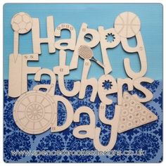 I love dad unpainted laser cut birch plywood plaque Fathers Day gift