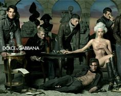 Dolce & Gabbana Fall/Winter Ad Campaign (2006) photo: Steven Meisel