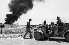 """The Battle of Gazala was a major World War II battle which was fought between the Allies and the Axis in North Africa. On the Allied side, the battle was fought by the 8th Army commanded by Lieutenant-General Neil Richie who was directed by Commander-in-Chief of the Middle East, General Sir Claude Auchinleck, while the Axis forces consisted of the Germany Afrika Korps and Italian units under the command of Colonel-General Erwin Rommel, also known by the nickname """"Desert Fox""""."""