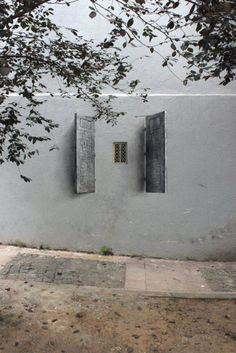 "barsanworld: "" Shutters by Pejac in Istanbul """