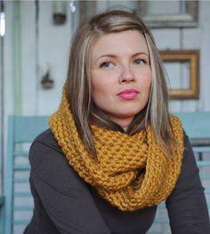 Infinity scarf chunky scarf chunky infinity scarf by Shanionie