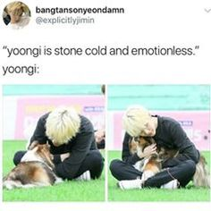 Yoongi is the softest member in BTS... Agreed? #jin #jimin #jhope #rapmonster #kimtaehyung #minyoongi #suga #chimchim #kookie #kookiebts #bts #springday #bangtanboys #btsmemes #imagines #btsimagines #jiminbts #namjoon #kpop #kpopimagines #hobi #v #love #like4like #likeforlike #Namjin #junghoseok #kpopmeme #followforfollow
