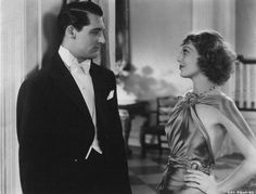 Cary Grant & a young Loretta Young