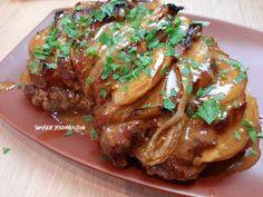 Pyszny pomysł na pieczeń z karkówki, który przygotujesz w kilka minut Steak, Pork, Chicken, Recipes, Dinners, Youtube, Diet, Kale Stir Fry, Dinner Parties