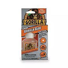 Gorilla Clear Glue, Crystal clear Waterproof ounce Bottle, Made in USA Fish Tank Stand, Pochade Box, Best Glue, Glass Aquarium, Clear Glue, How To Make Slime, Clear Silicone, Super Glue, Wood Glue