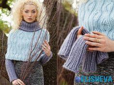 Зимнее вязание от Vogue Knitting: свитера: жакеты, болеро и жилеты | Блог elisheva.ru