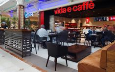 Vida e Caffè, Canal Walk by CODE / Collaborative Design