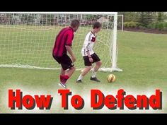 Soccer Defending Mastery - How To Defend In Soccer - 4 Tips For Defending With Confidence, Making More Tackles, And Getting More Involved In The Play - https://www.youtube.com/watch?v=qAKjk_reTQ0 - SHARE and TAG a soccer player!
