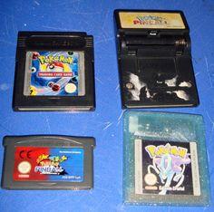 Pokemon 4 juegos -Trading card game-Edicion cristal-Pinball dos ediciones
