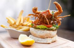 FOODBEAST is your online food haven. Find the best new stories, recipes and food culture. Crab Burger, Dublin Food, Soft Shell Crab, Good News Stories, Always Hungry, Fish And Seafood, International Recipes, Seafood Recipes, Hamburger