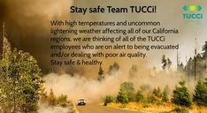 California Regions, Learning Environments, Stay Safe, Fire, Events, Website
