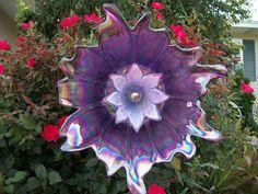 glass garden art, Kimber's Garden Gems on facebook