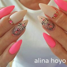 Beautiful nails by @alinahoyonailartist ✨Ugly Duckling Nails page is dedicated to promoting quality, inspirational nails created by…