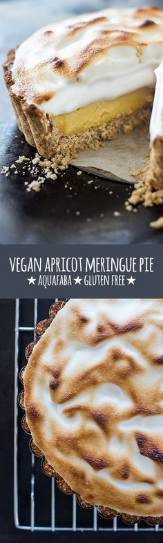 A lush dessert with a crumbly oat-based biscuit crust, a creamy filling made…