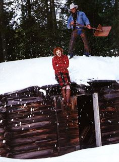 Karen Elson by Arthur Elgort in ed. Cowgirl Hall of Fame for Vogue US October 1999