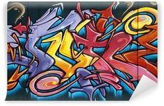 Carta da Parati in Vinile Tag, graffiti
