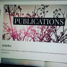 Article Writing, Yoga Retreat, Art Therapy, Origins, Awakening, Creativity, Articles, Bring It On, India