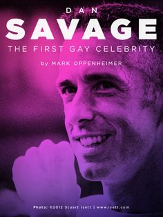 """I discovered that Savage has several different audiences, who don't necessarily know each other, or know about his many lives. There are a ton of people who know him just as the guy from This American Life — they don't even know he writes a sex column! And then there are millions who know ""It Gets Better"" but don't know that he writes or does radio. -Mark Oppenheimer on Dan Savage @indiereader"