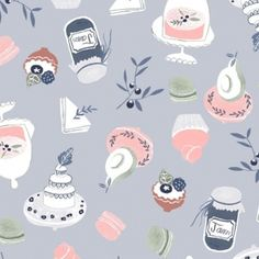 Rae Ritchie - Tea Party - Tea Time Sweets in Multi