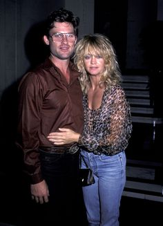 Kurt Russell & Goldie Hawn, 1983.