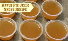 This Apple Pie Jello Shot recipe is a taste of fall in a party shot! Simple to make, these Apple Pie Jello Shots are great for parties, tailgating, and more!